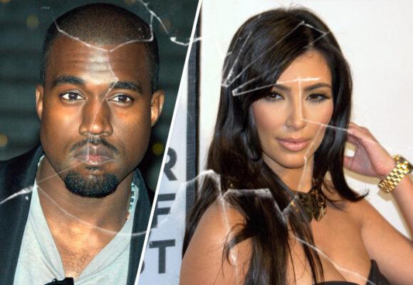 Se les acabó el idilio de amor a Kim Kardashian y Kanye West