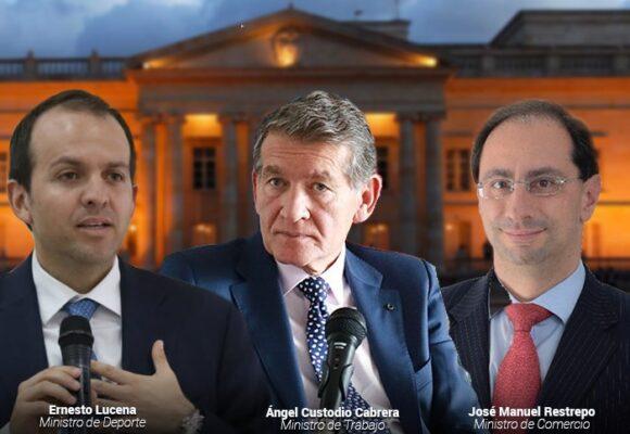 Tres ministros en la cuerda floja para que Duque cumpla con Ley de cuotas
