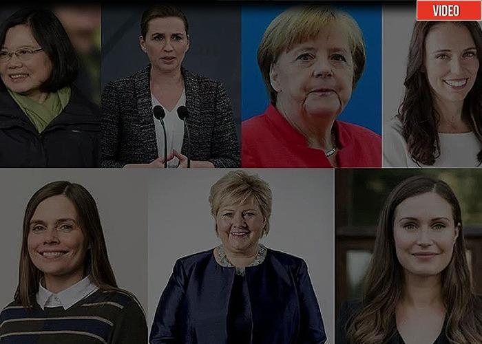 25 mujeres que lograron imponerse en el mundo del poder