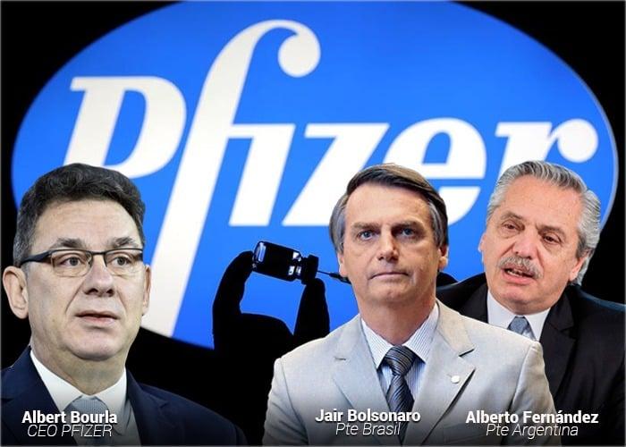Las comprometedoras exigencias de Pfizer a países Latinos