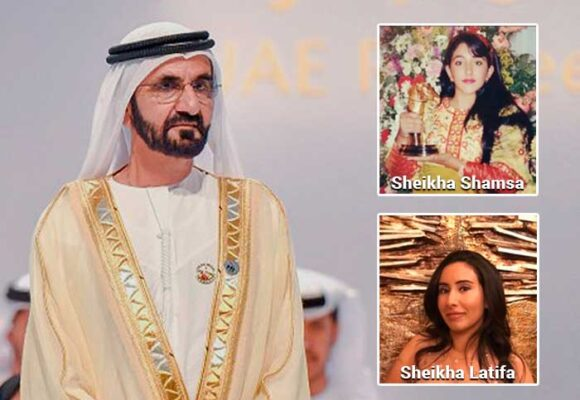 Las princesas de los Emiratos Árabes secuestradas por su padre, el rey de Dubai