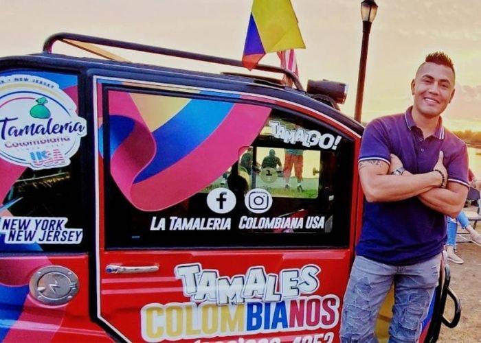 El colombiano que triunfa vendiendo tamales en Nueva York