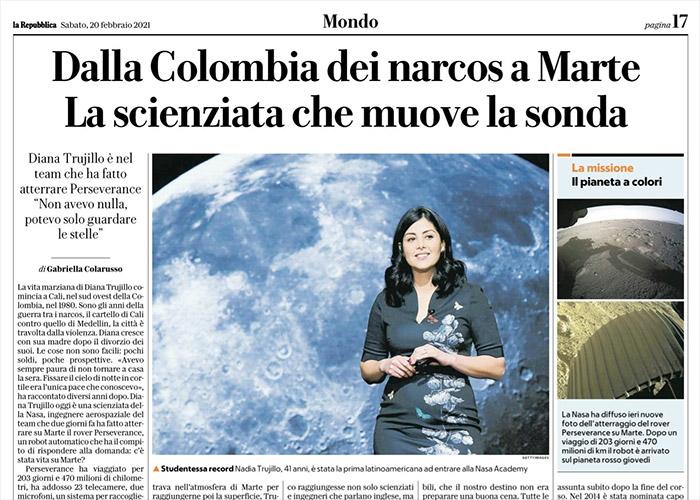 Indignante titular de diario italiano: