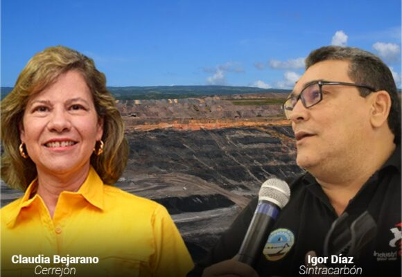 Nuevo round de la presidenta del Cerrejón con el Presidente del Sindicato