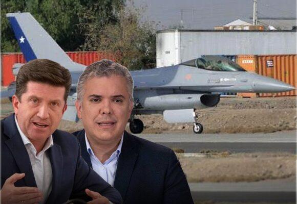Los F-16 que compraría el gobierno Duque