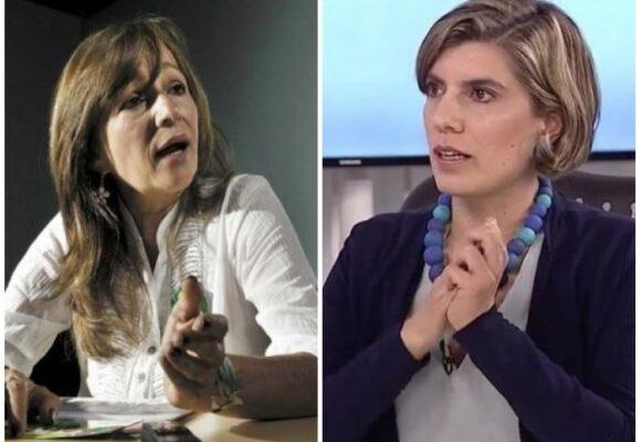 Estampida de feministas de la Colombia Humana