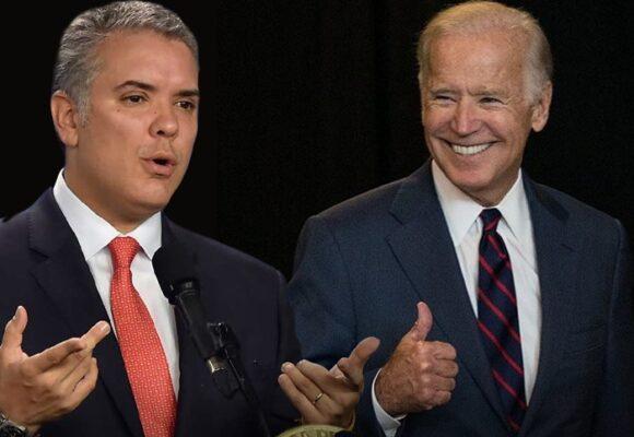 Primera señal del gobierno de Joe Biden a Duque