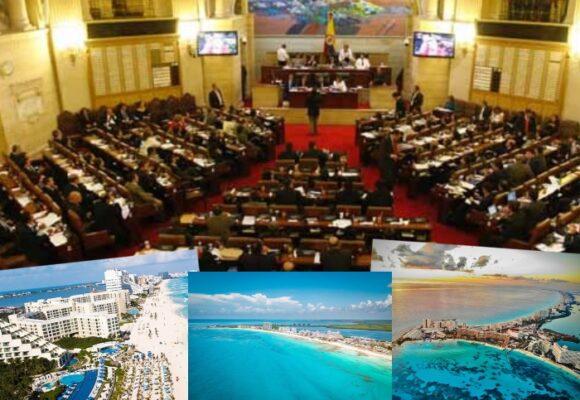 ¿Quiénes son los 9 congresistas que se fueron a Cancún en el tercer pico de pandemia?