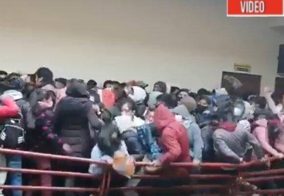 VIDEO: El momento en el que murieron 5 universitarios en Bolivia
