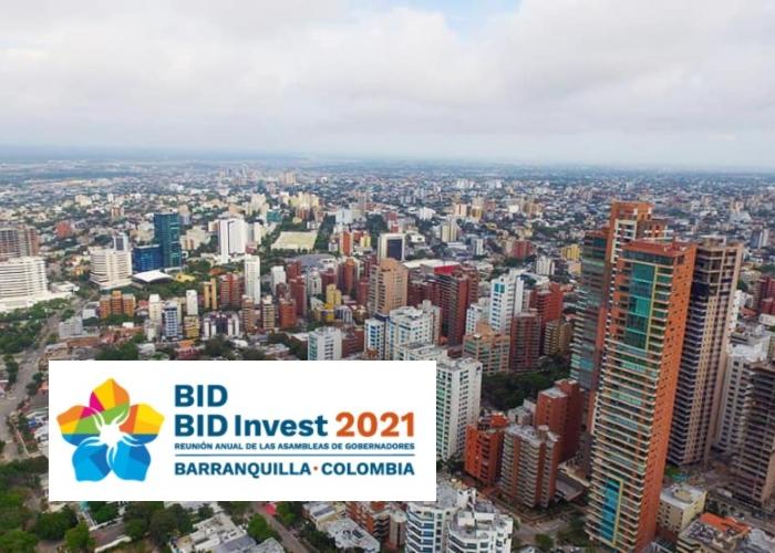 Lista para despegar la Asamblea del BID en Barranquilla