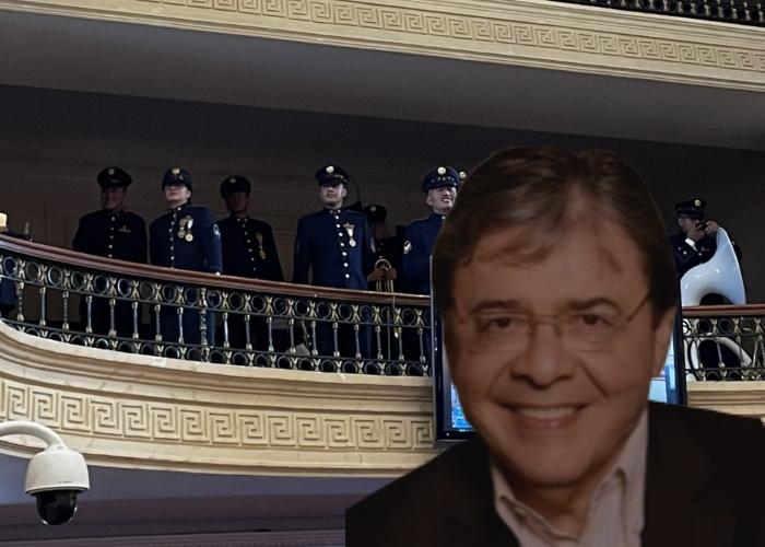 La lambonería de los godos con Carlos Holmes Trujillo en el Congreso