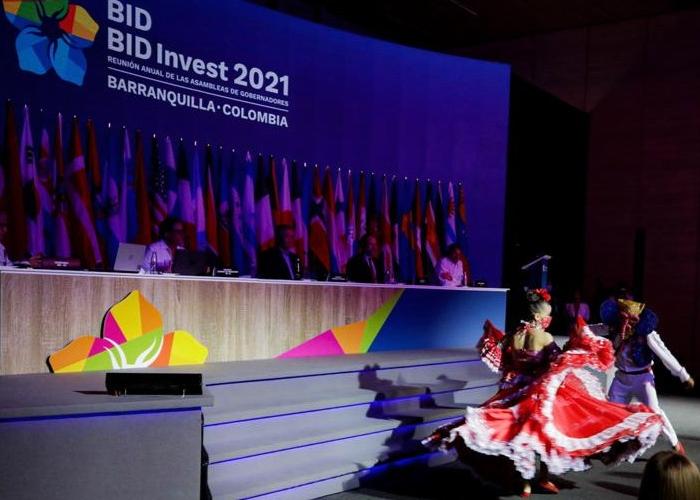 Los mejores momentos de la asamblea del BID 2021