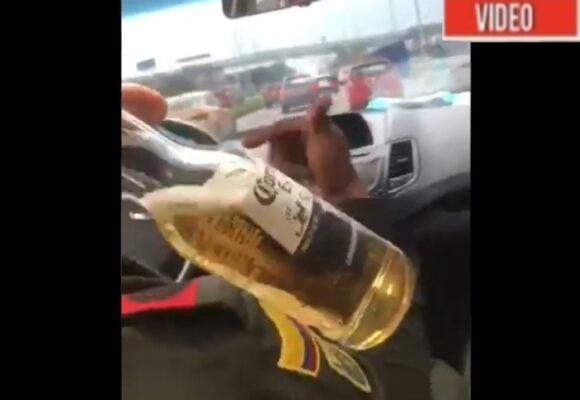 VIDEO: ¿Policías borrachos al volante en Bogotá?