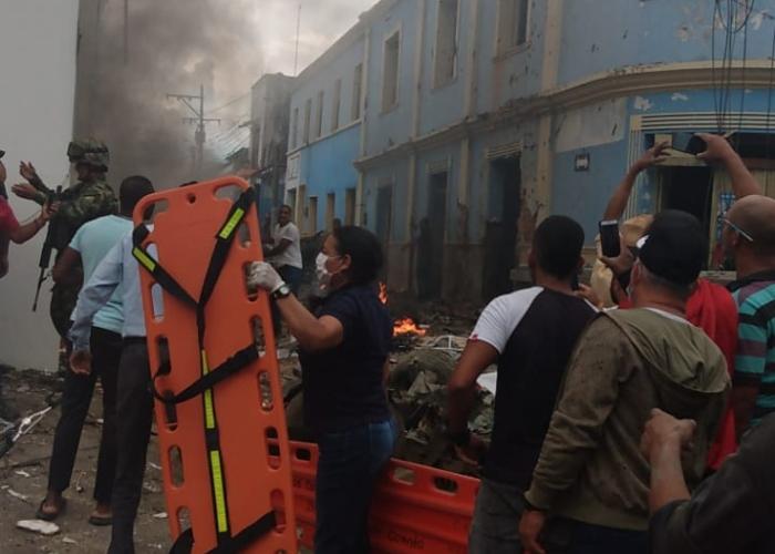 Atentado con carrobomba en alcaldía de Corinto deja al menos 4 heridos