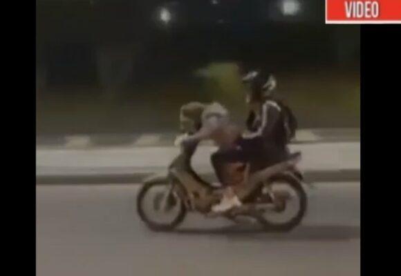 VIDEO: Un perro maneja una moto en Envigado, Antioquia