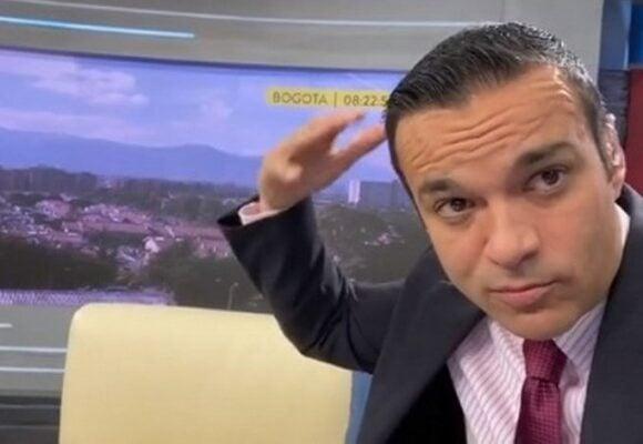A Juan Diego Alvira no le da miedo que lo hayan amenazado de muerte