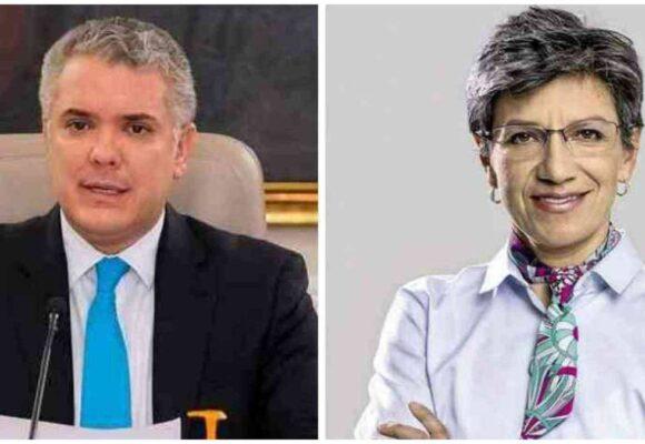 Duro riendazo de Iván Duque a Claudia López
