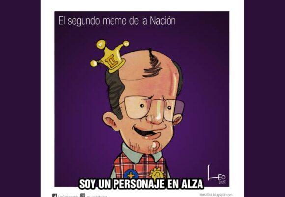 Caricatura: El segundo meme de la nación