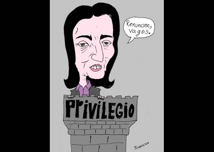 Caricatura: La falta de empatía de María Fernanda Cabal