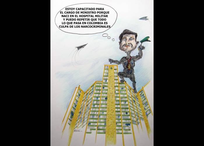 Caricatura: Diego Molano debería reinventarse