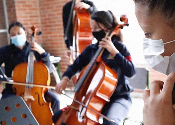 El regreso a la presencialidad de los Centros Filarmónicos Escolares de la OFB
