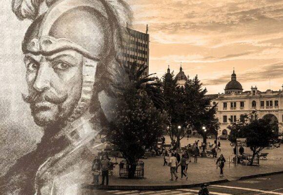 Belalcázar y la Plaza Mayor de Pasto