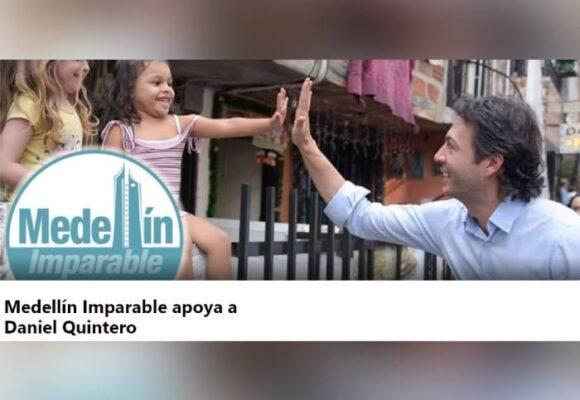 Medellín Imparable, grupo de apoyo a Quintero, superó al de Más Medellín, uno de revocatoria