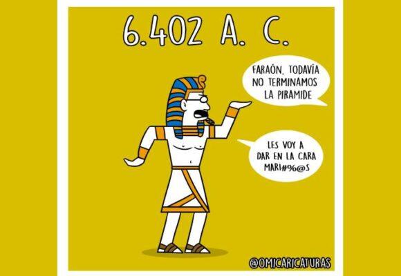 Caricatura: 6402 a. C.