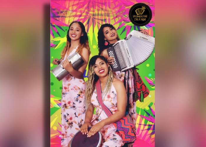 Dinastía Zúñiga, la agrupación vallenata femenina que se roba el show