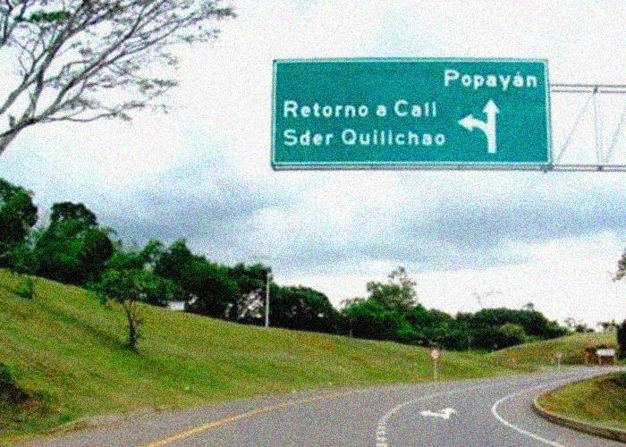 Atraso vial en el suroccidente colombiano