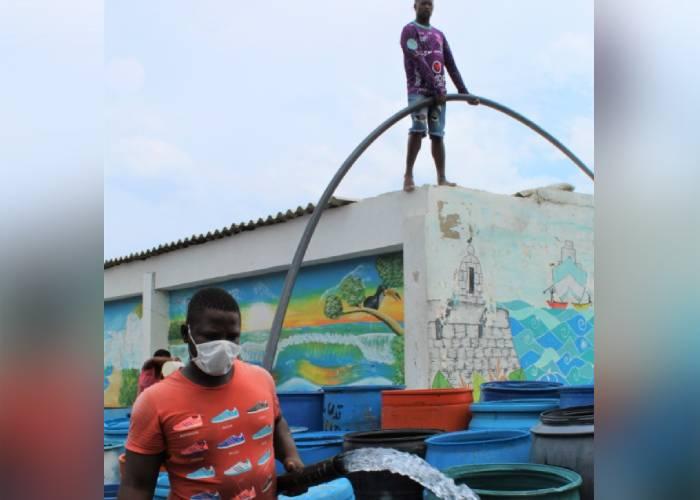 La lucha por abrir el grifo en Cartagena