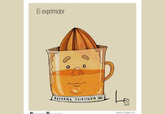 Caricatura: El exprimidor