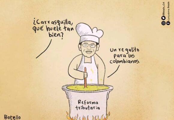 Caricatura: Se está cocinando algo
