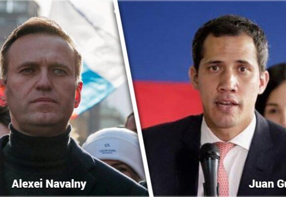 Navalni y Guaidó