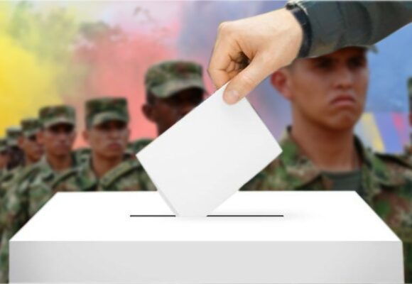 El voto para policías y militares