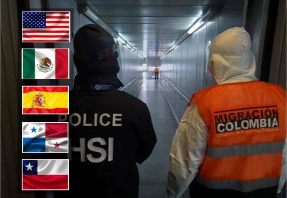 Los países de donde más deportaron colombianos en el 2020