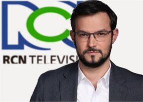 Estreno de José Manuel Acevedo en Noticias RCN con barrida de periodistas