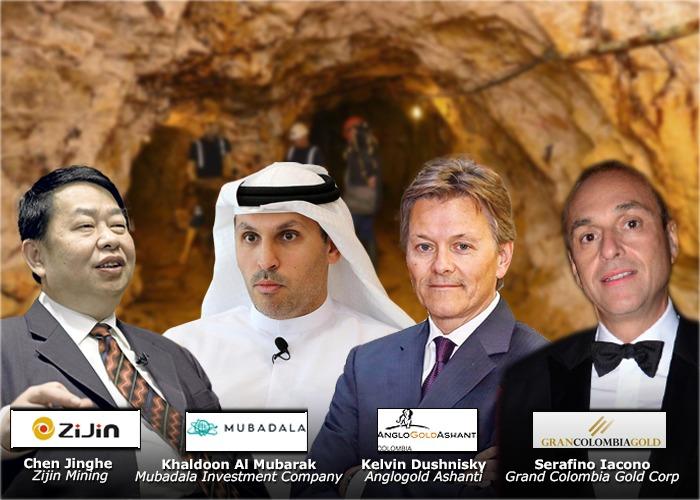 Cuatro multinacionales detrás del oro colombiano