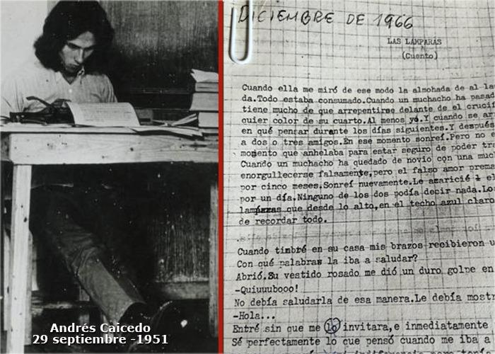 Andrés Caicedo, 44 años de muerto, y aún con obra para publicar