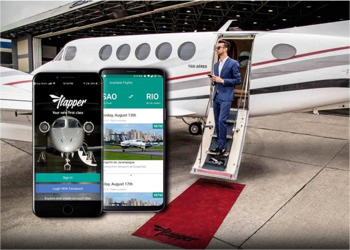 Reserve su silla en jet privado o alquílelo: Flapper llega a Colombia