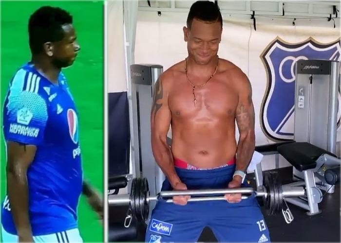 14 kilos en unas semanas: la impresionante adelgazada de Freddy Guarín
