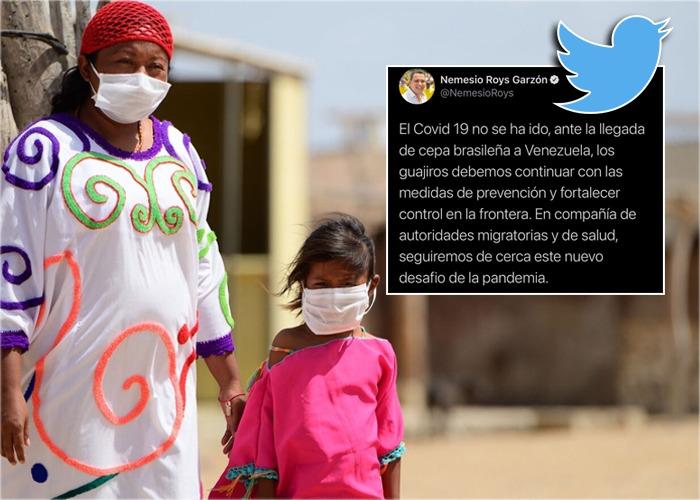 La Guajira: la insospechada rendija para la cepa brasileña del covid-19