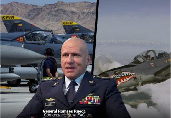 Los aviones de guerra con los que cuenta la Fuerza Aérea colombiana