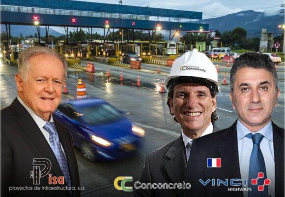Sarmiento A., dos billonarias familias francesas y Conconcreto mandan en la vía Bogotá-Cali