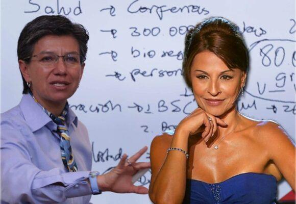 Hasta Amparo Grisales está harta de Claudia López