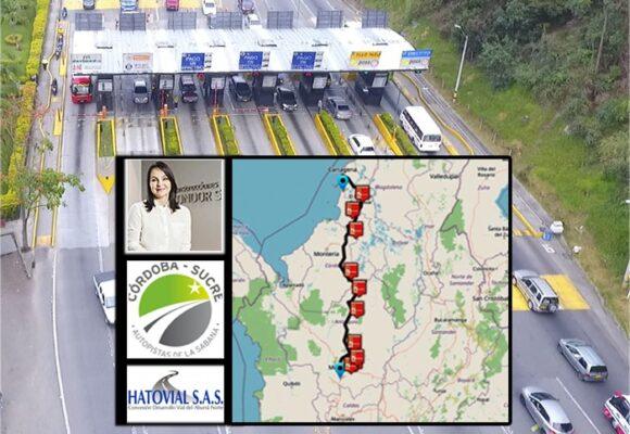 Quién se queda con la plata de los 10 peajes de la vía Medellín – Cartagena