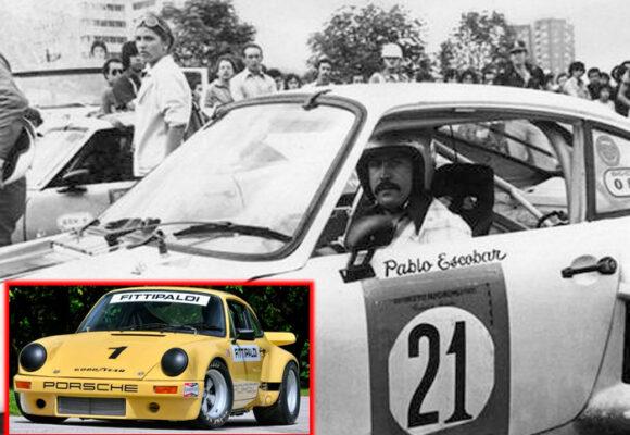 El Porsche de Pablo Escobar que costaría US$3 millones