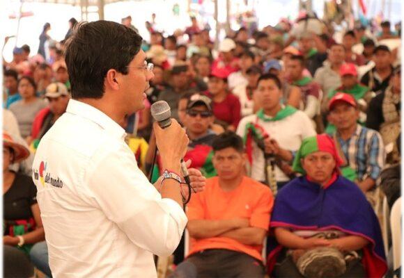 Camilo Romero arranca campaña presidencial peleando contra el glifosato