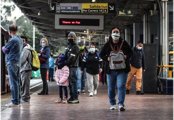 3.047 casos nuevos y 110 fallecidos más por Covid en Colombia
