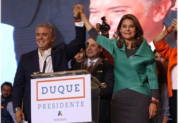 Encuesta Guarumo: sube imagen favorable de Duque y cae la vicepresidente
